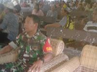 Serka Ebeng Laser Hadiri Acara Pesta Panen Desa Tanjung Kranjang