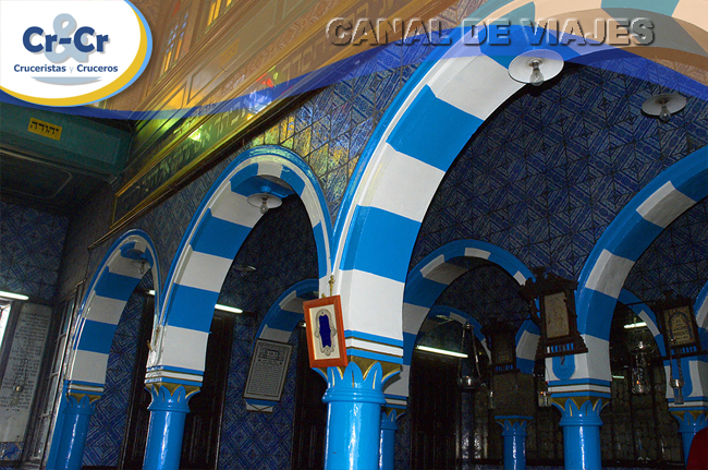 Peregrinación judía sinagoga en Túnez