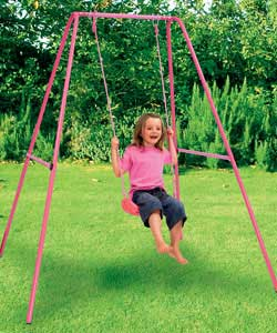 For Sale Cash And Carry Kids Active Pink Single Swing
