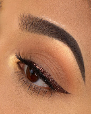 Soft makeup combined
