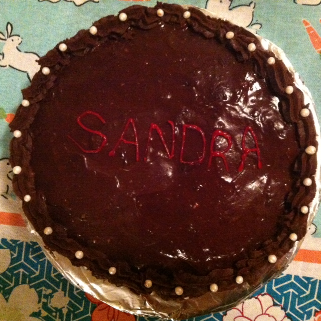 The Queens Birthday Cake for Sandra