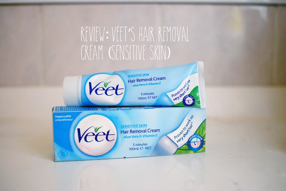 Lucy And The Runaways A Review Veet S Hair Removal Cream Sensitive Skin