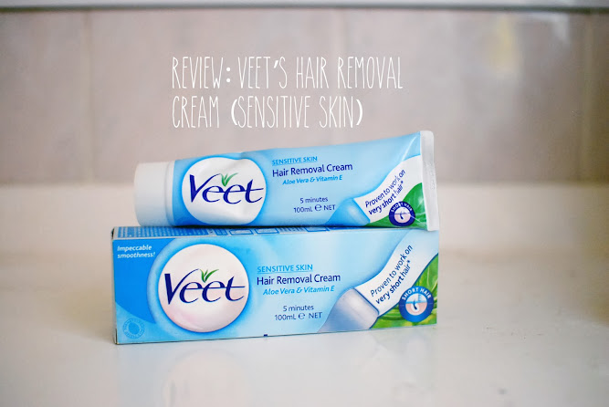 Veet Hair Removal Cream Beauty Blog Review