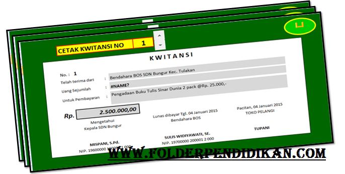 Download Aplikasi Kwitansi BOS