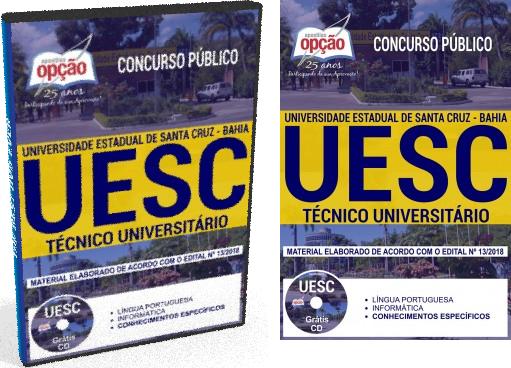 Apostila Concurso UESC Técnico Universitário 2018