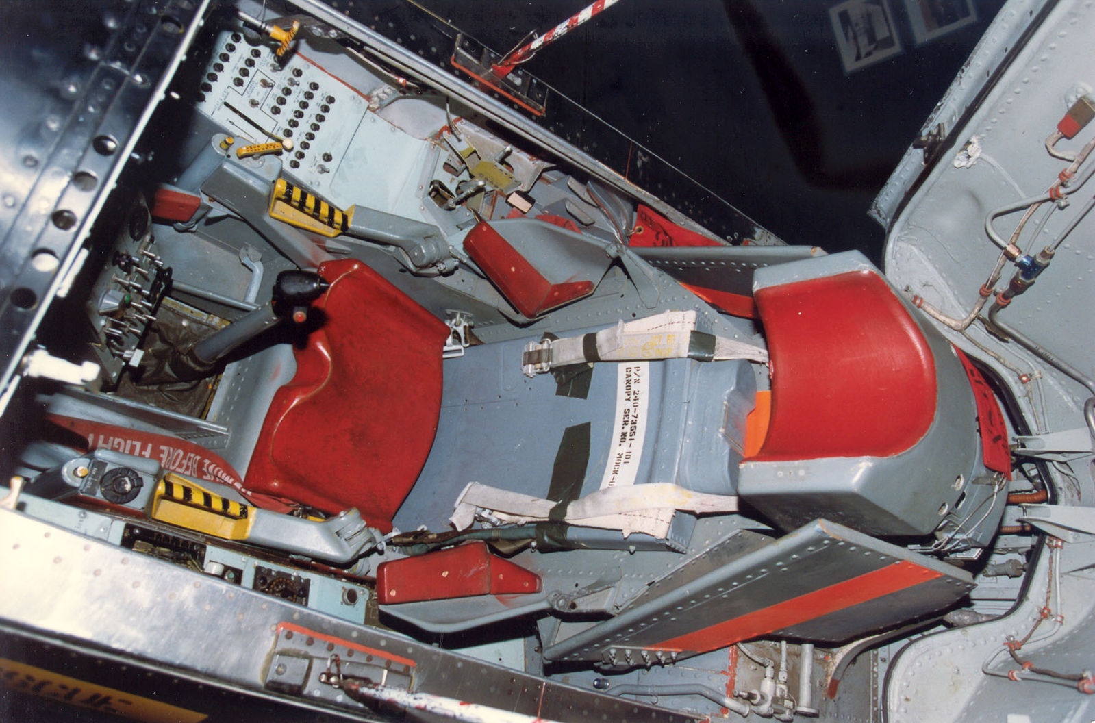 X15 E639834 X15 cockpit  NASA