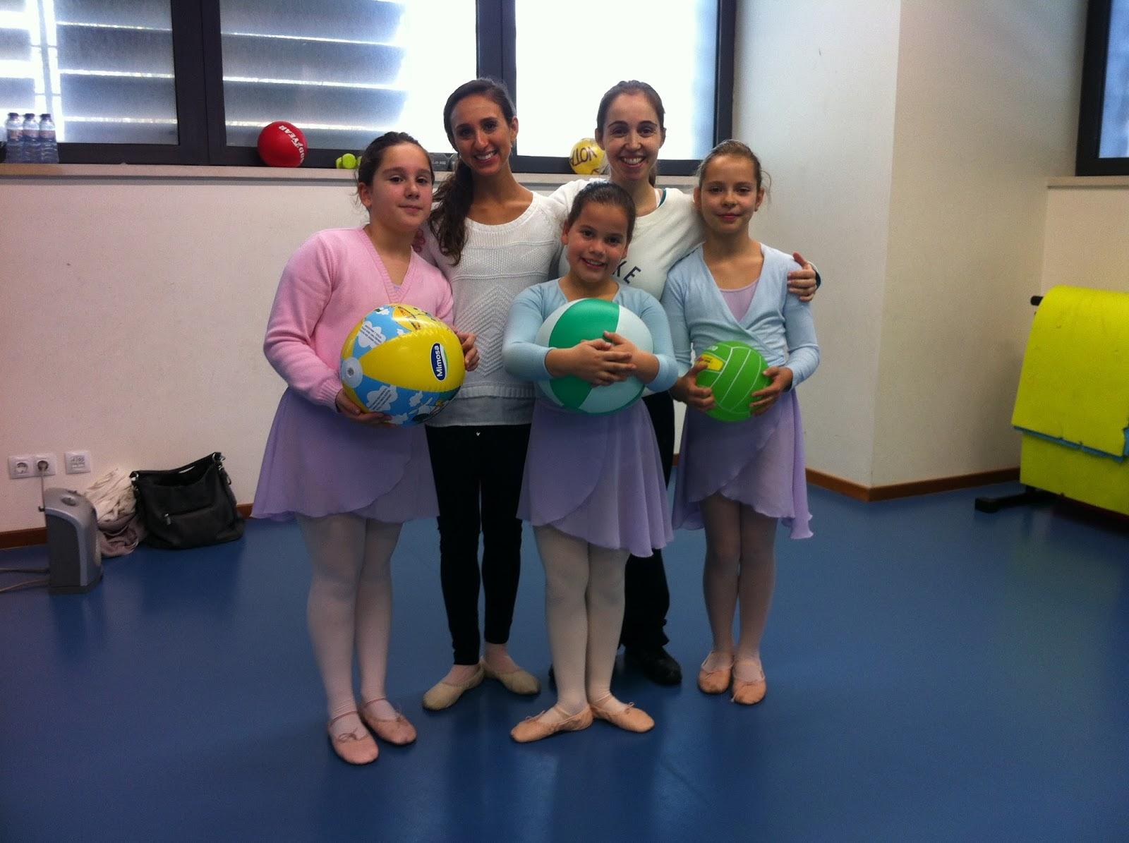 Masterclass PA AAB - Alunas nível 3 - Ballet no Clube de Futebol de Sassoeiros