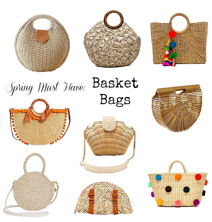 Spring Trend- Basket Bags
