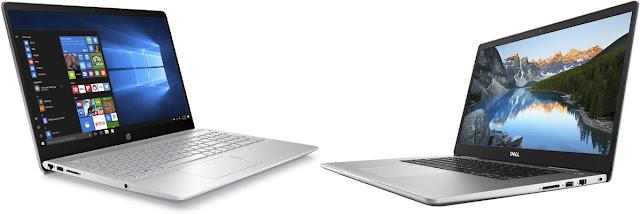 Comparativa portátiles 15,6 con buen diseño: HP Pavilion 15-ck000ns vs Dell Inspiron 15 7570