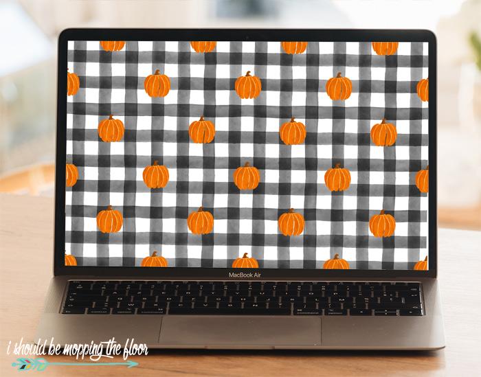 Cute Pumpkin Wallpaper