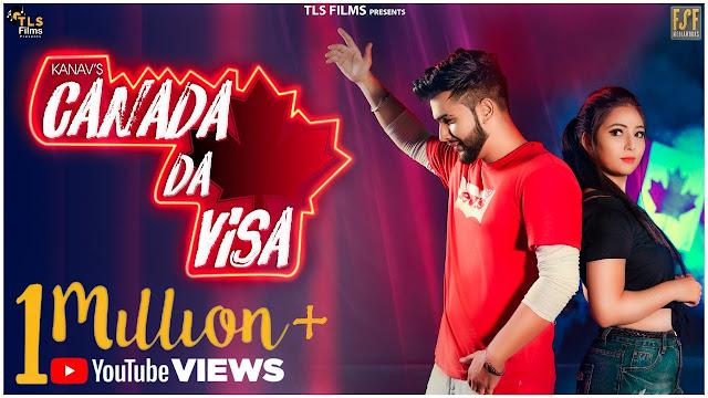 Canada Da Visa Lyrics - Kanav | Musical Fauj
