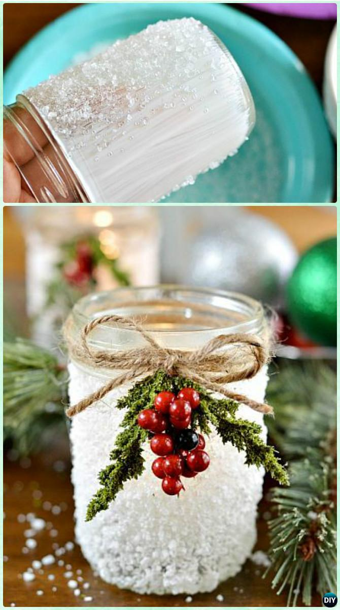 12 diy christmas mason jar lighting craft ideas do it