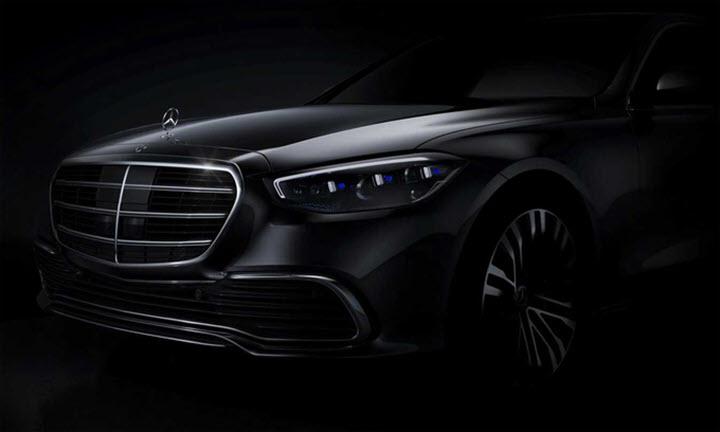 Mercedes S-class thế hệ mới sửa lưới tản nhiệt và đèn pha