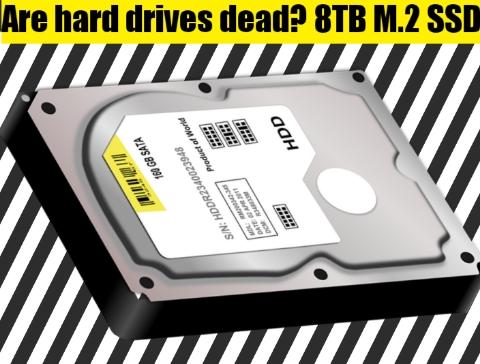 Are hard drives dead? 8TB M.2 SSD