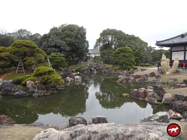 Jardin Ninomaru du château Nijo