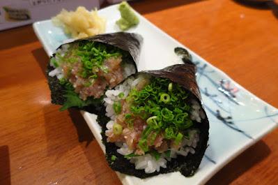 Keria Japanese Restaurant, hon maguro negitoro temaki