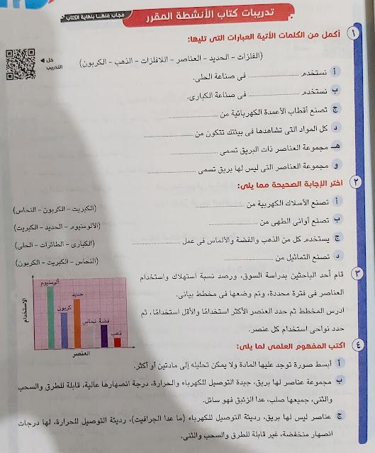 العناصر من حولنا | الصف الرابع الابتدائي | مادة العلوم | اجيال الاندلس