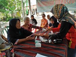 Kegiatan Posbindu Bulan Agustus di Desa Pananjung