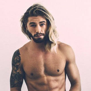 Male ombre hair