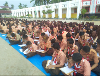 SMPN 1 Ransel Ikuti LKTJ Dalam Memperingati HUT PGRI dan Hari Guru Nasional