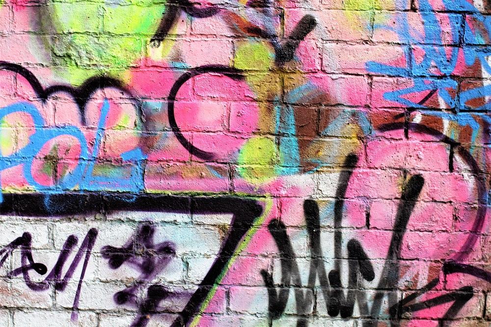 Street art, Manchester weekend - UK travel blog