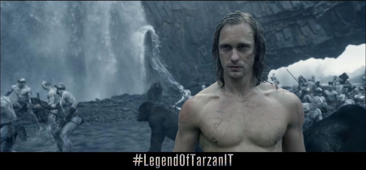 Canzone Pubblicità trailer film The Legend of Tarzan | Luglio 2016