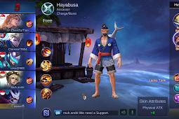 Script Unlock Skin Hayabusa Spesial Mobile Legend