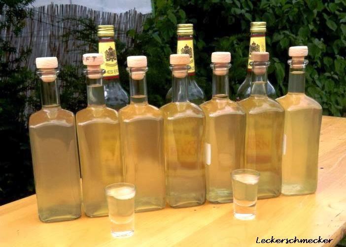 limoncello selber machen mit korn