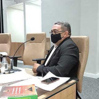 Vereador Nal Fernandes MDB de Guarabira   solicita ao Dep  Federal Hugo Mota emenda ao Orçamento para  pavimentação asfáltica de diversas ruas no Bairro Assis Chateaubriand.