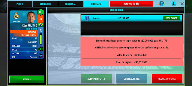 Análisis Soccer Manager 2021 para Android