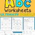 Alphabet Worksheets ULTIMATE BUNDLE!