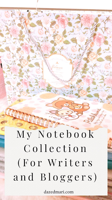 notebook collection, writers, bloggers, creatives