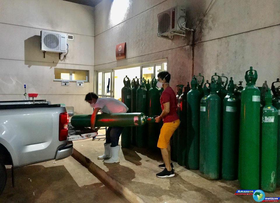 Hospital Municipal de Juruti recebe mais de 70 cilindros de oxigênio