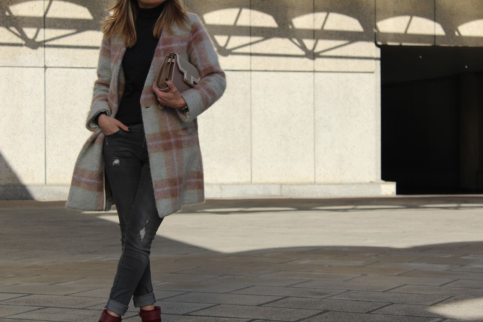 Eniwhere Fashion - grey coat