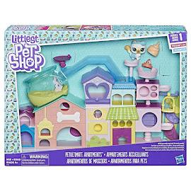 Littlest Pet Shop Series 1 Large Playset Flinty Goldfin (#1-71) Pet
