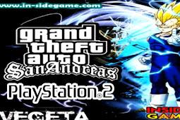 GTA San Andreas PS2 Mod Vegeta + Jurus