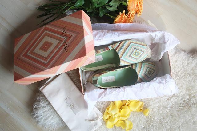 Valentino Gravami shoes espadrilii otzyv