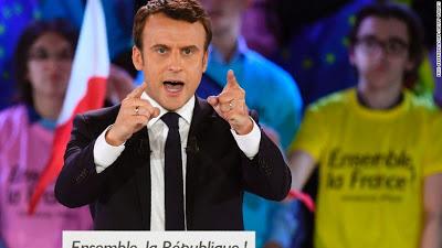 39yrs Old Macron Wins France Presidential Election-holykey1.com