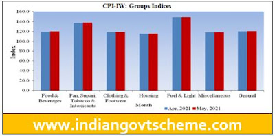 CPI-IW: Groups Indices