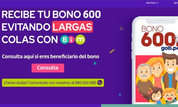 Bono 600 Soles: ¿Hoy pagan con billetera digital?