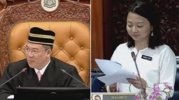 Tuan Speaker Nasihat Hannah Yeoh Jangan Basuh Baju Waktu Malam Dan Ini Jawapan Hannah Yeoh Yang Buat Semua Ahli Parlimen Ketawa