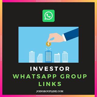 Investor whatsapp group links