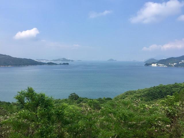 Ocean views on the Lantau Trail from Mui Wo to Pui O, Hong Kong