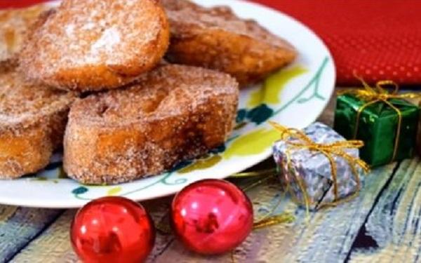 Receita de rabanada crocante de Natal (Imagem: Reprodução/Receitas de Comidas)
