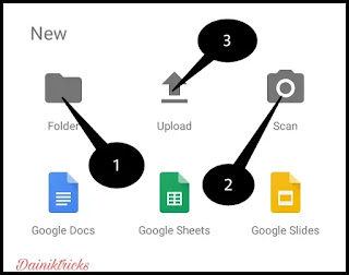 google drive me documets upload kaise kare