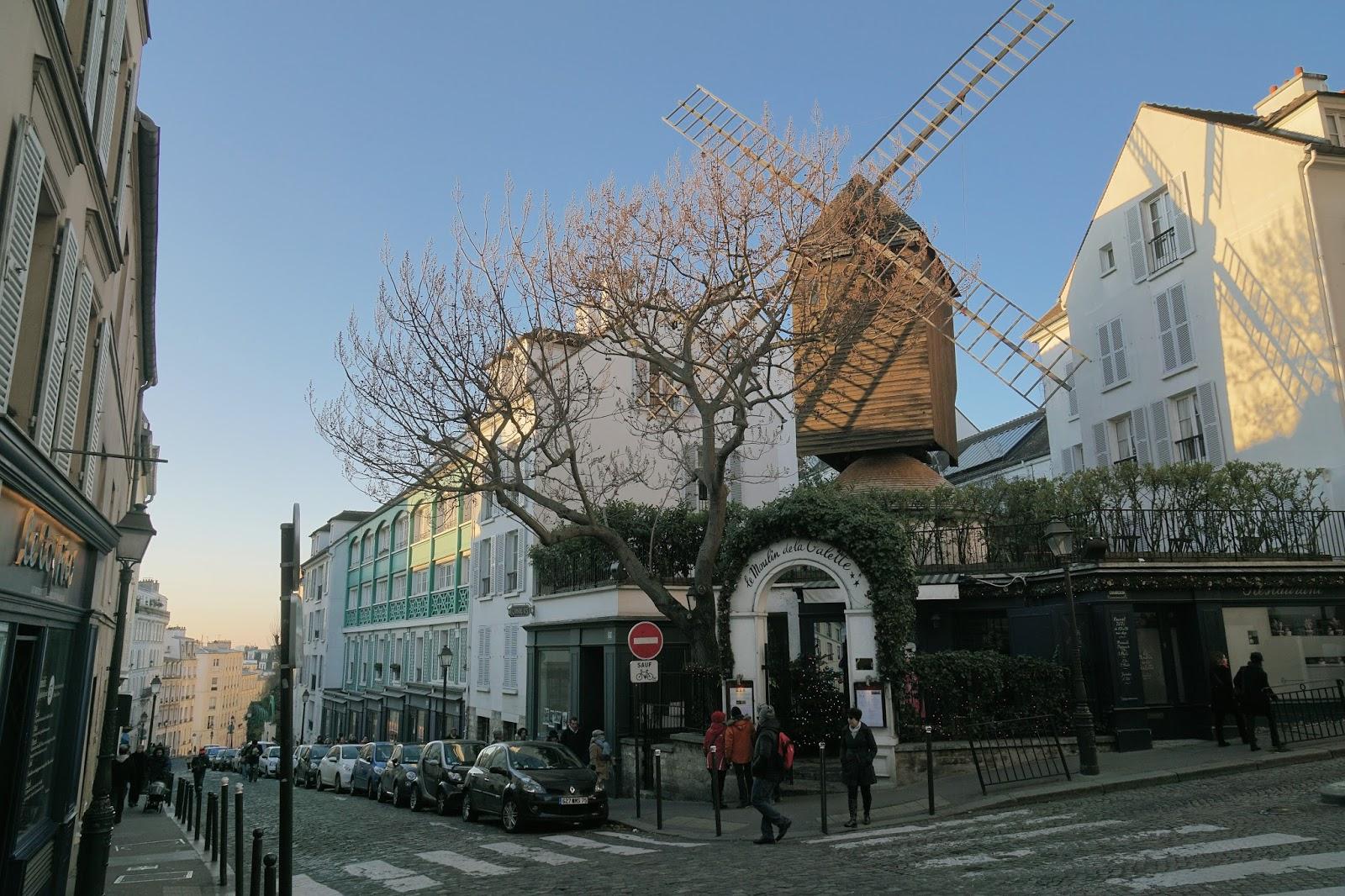 ムーラン・ド・ラ・ギャレット(Moulin de la galette)