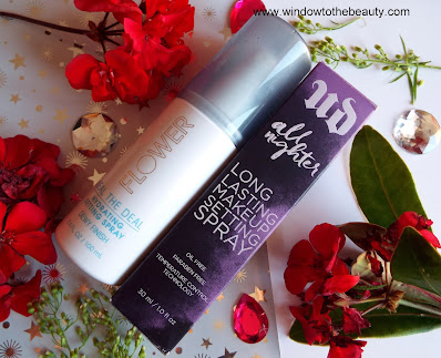flower beauty vs urban decay setting spray compare review