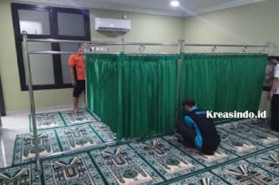 Jasa Hijab Masjid Stainless di Surabaya dan seluruh Jawa Timur