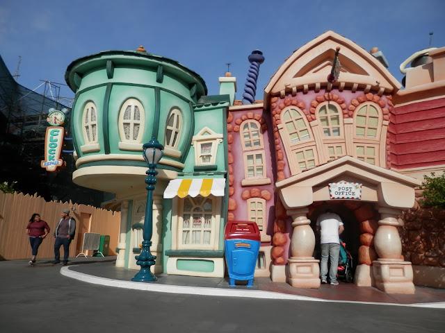 parc Disneyland Anaheim Toon Town