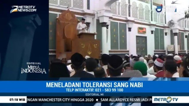 Sebut Reuni 212 Perayaan Intoleransi, MetroTV akan Dipolisikan